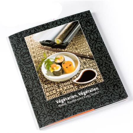 Easy Sushi Recipe Book - Veg