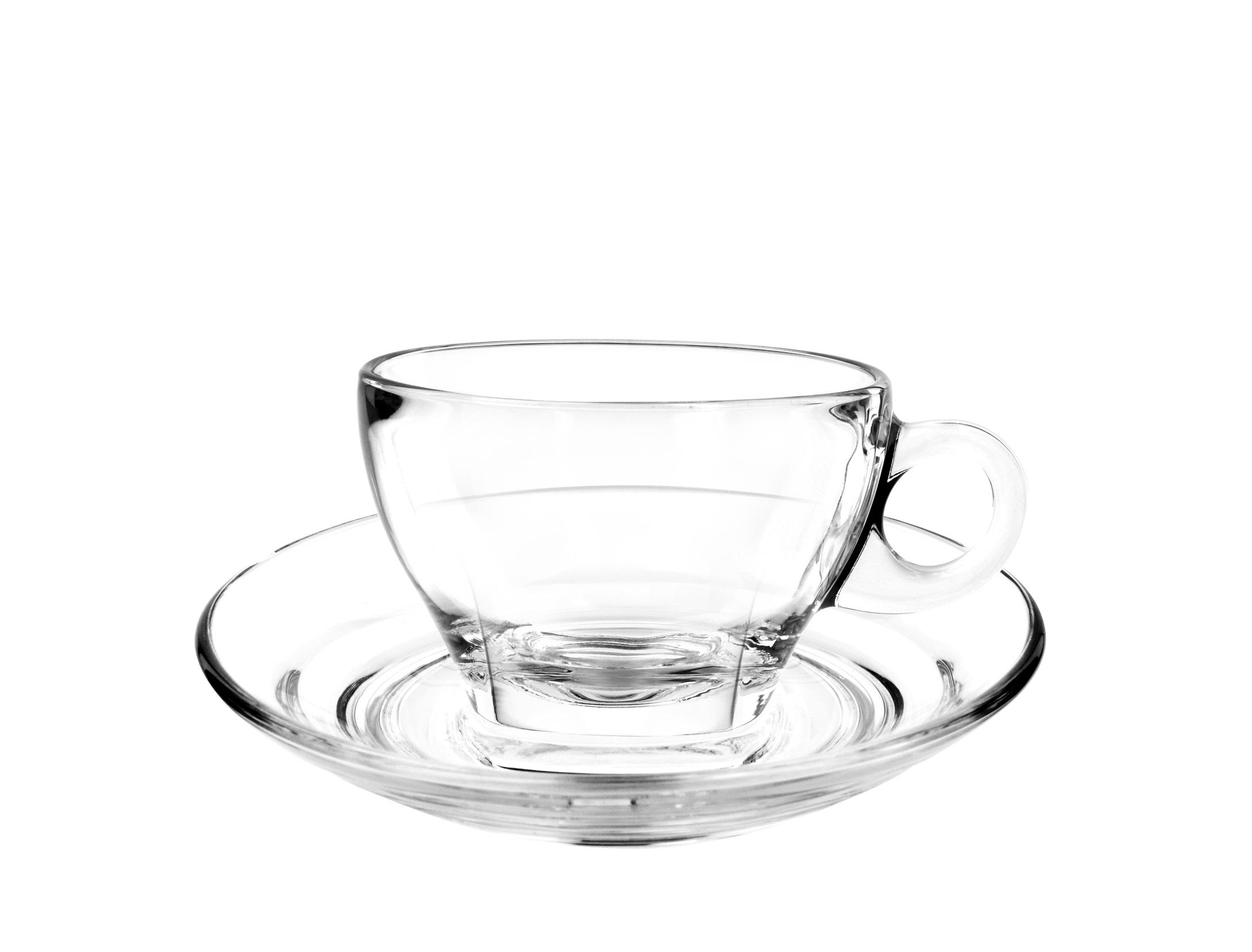 Caffé Latte Glasses - Cuisivin Glassware