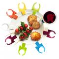 stemware plate clips