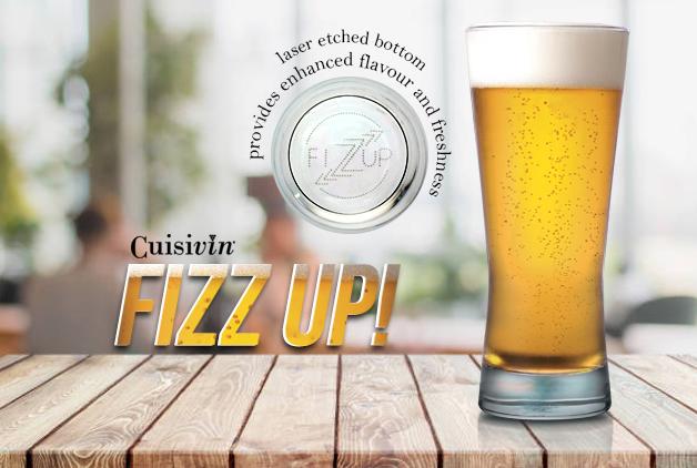 Fizzup Beer Glass - Cuisivin Glassware