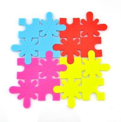 Silicone Puzzle Coasters