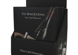 wine label removers display # 6303